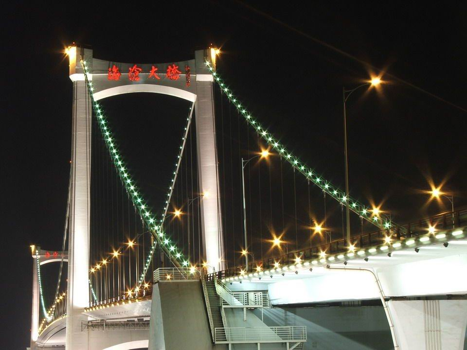 [泛光照明]厦门海沧大桥