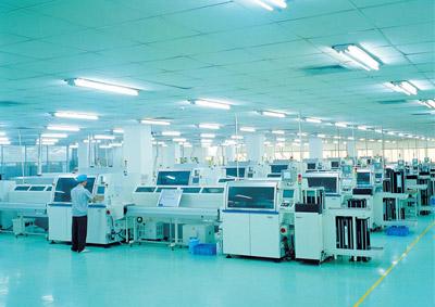 [工业照明]夏新电子厂房