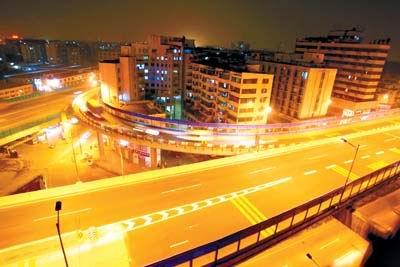 [道路照明]广州内环路高架