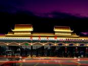 广州华南快速番禺大桥段收费站泛光照明